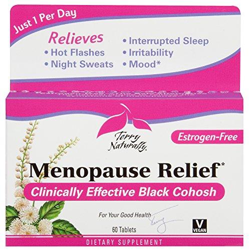 Terry naturalmente el alivio de la menopausia, 60 comprimidos