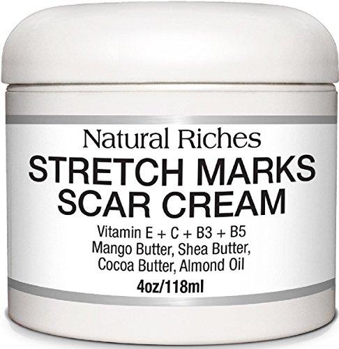 La mejor Crema Antiestrías y cicatriz de riquezas naturales para eliminación de cicatrices y estrias del embarazo, ayuda a reafirmar & apriete la piel flácida. Reduce la apariencia de cicatrices y queloides