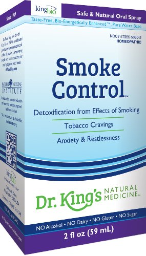 Medicina Natural del Dr. King humo Control, 2 onzas de líquido