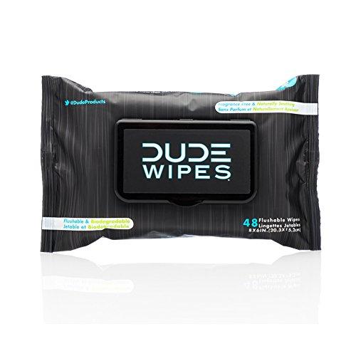 Huevón toallitas desechables toallitas, naturalmente calmante y sin perfume, dispensador Pack (ct 48)