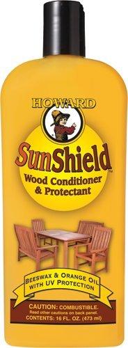 Howard SWAX16 cera de muebles al aire libre de parasol con protección UV, 16 onzas