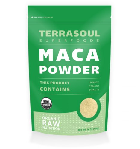 Terrasoul Superfoods polvo de Maca (orgánico), 16 onzas