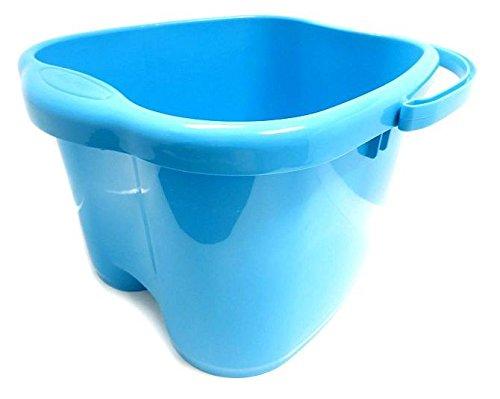 Ohisu azul pie lavabo para baño de pies, remojo o desintoxicación