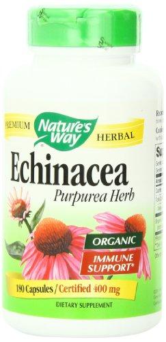 Forma la hierba de la naturaleza equinácea, 180 cápsulas, 400 mg
