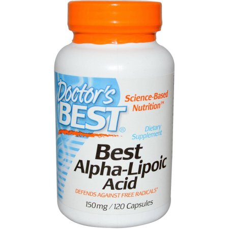 Doctor's Best 150 mg ácido alfa lipoico 120 CT