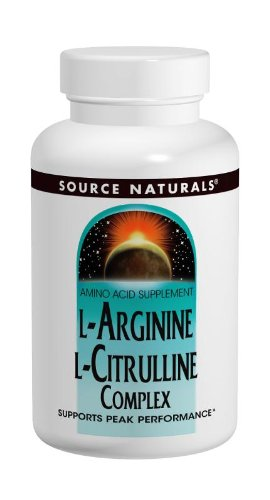 Source Naturals L-arginina L-citrulina complejo, 240 tabletas 1000mg