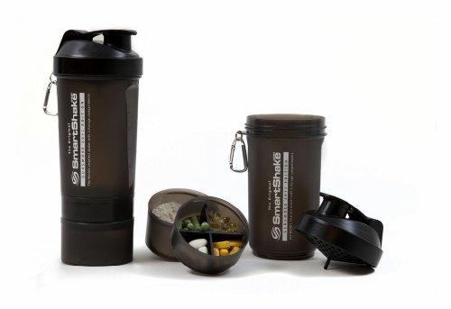 SmartShake Shaker Cup, 27 onzas, negro