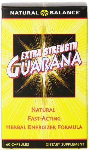 Equilibrio natural Extra Strength Guarana, 60-Conde