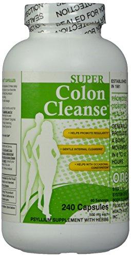 Super Colon Cleanse, 500mg, 240 cápsulas