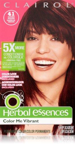 Herbal Essences Color Me vibrante permanente 041 pasión de verano 1 Kit cabello