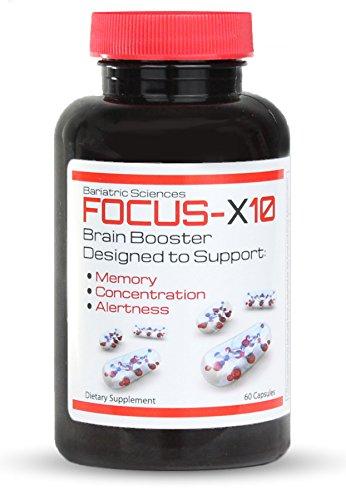 Naturales Brain Booster, el mejor suplemento del aumentador de presión del cerebro con Ginkgo Biloba. Soporta memoria, enfoque y claridad Mental