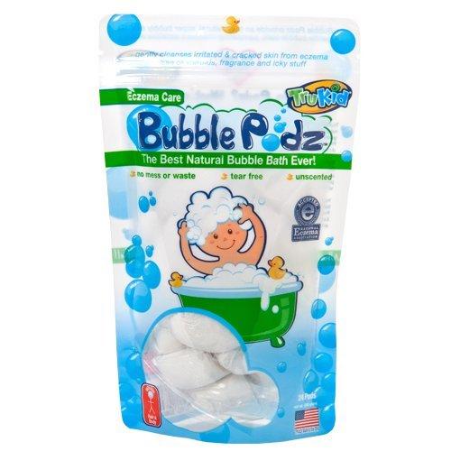 TruKid Eczema cuidado burbuja Podz, cuenta 24