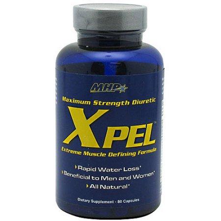 MHP Fuerza Xpel máximo Herbal Diurético 80 Cápsulas