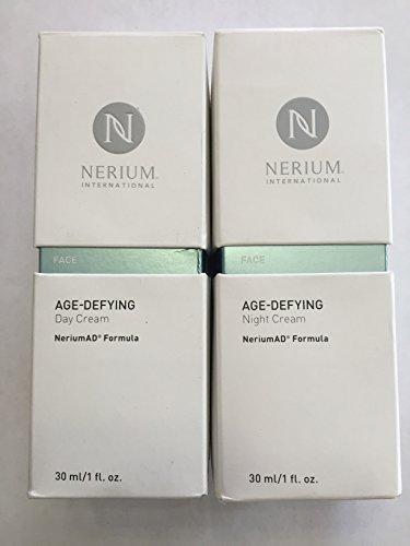 Kit completan de Nerium AD Age desafiando la noche y crema de día
