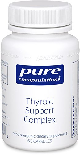 Puros encapsulados - tiroides apoyo 60 complejo cuenta