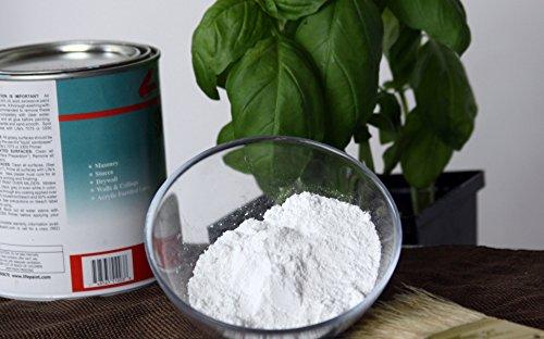 Calcio carbonato polvo tiza pintura aditivo. 100% orgánico alto contenido en calcio. 1 lb.