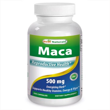 Best Naturals Maca 500 mg 250 Ct