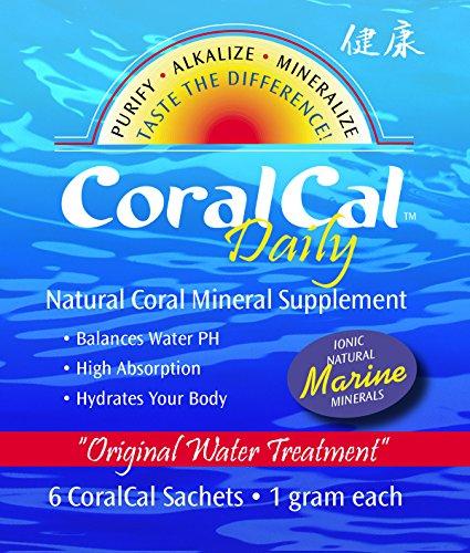 3 sistemas CoralCal sobres diarios - 15 paquetes de papel de plata - (Total 90 bolsitas)