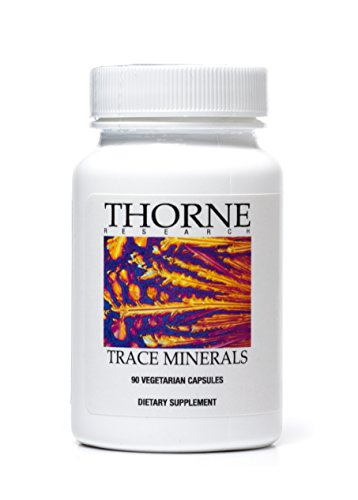 Thorne Research - Trace Minerals - 90 cápsulas vegetarianas