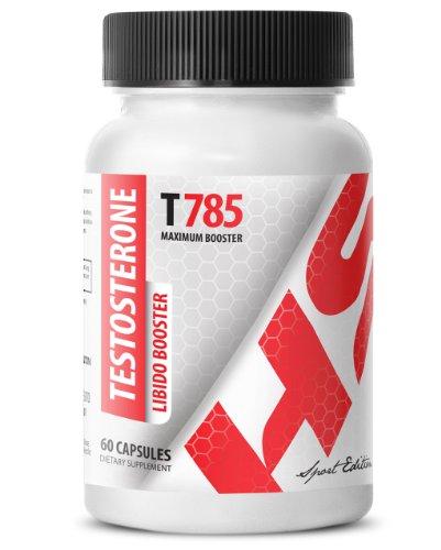 La testosterona Libido Booster T785. Fórmula del realce masculino. Máximo recto (1 frasco 60 comprimidos)