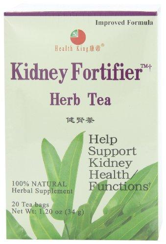 Elaborador de riñón salud rey hierba té, bolsitas de té, 20 cuenta caja (Pack de 4)