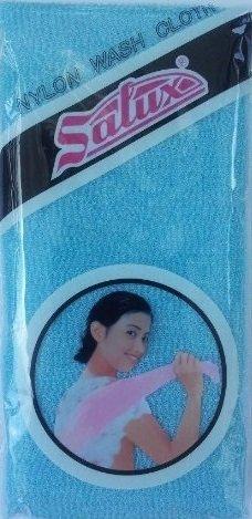 Salux Nylon japonés belleza piel lavado de baño/toalla - azul