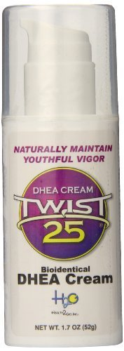 Twist 25 crema DHEA por Health2Go, Inc