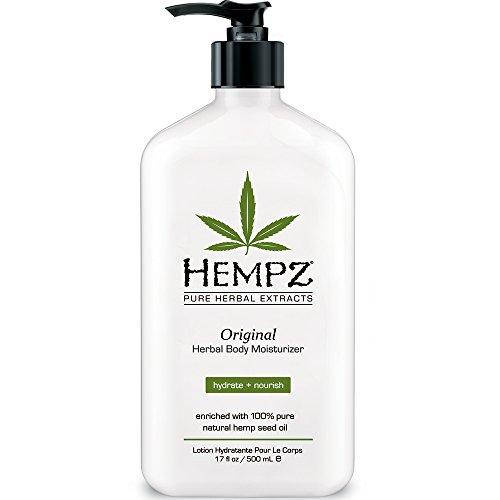Crema hidratante Herbal Hempz Original, 17 onzas de líquido
