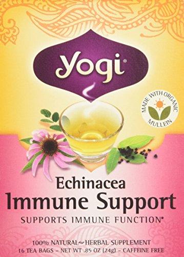 Bolso de té Yogi Tea Echinacea inmunológico ayuda 16