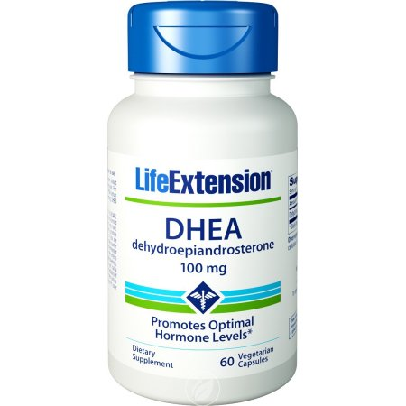 Life Extension DHEA 100 mg 60 cápsulas vegetales