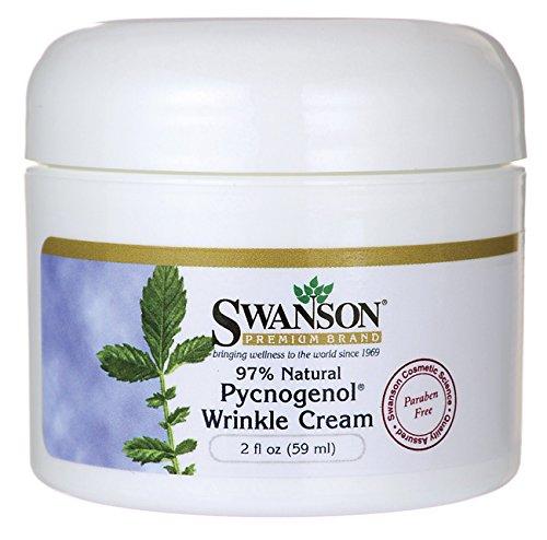 El Pycnogenol arruga crema, 97% Natural 2 onzas (59 ml) crema