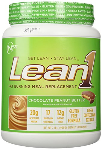 Nutrition53 Lean1 Chocolate cacahuate 1,98 libras (900g)