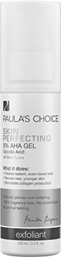 Piel opción de Paula perfeccionar 8% AHA Gel Exfoliante con ácido glicólico, manzanilla y té verde - 3.3 oz