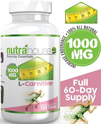 Fumarato de L-carnitina 1000 mg, 120 tabletas 60 días de suministro. Queme grasa más rápido con L carnitina. Tomar 1 tableta antes de hacer ejercicio e intensificar su trabajo! Quemar más calorías y aumentar la energía! L-carnitina transforma la grasa en