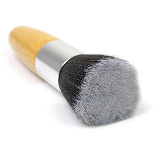 Cambio de Outop maquillaje herramientas Fundación cepillo mango de bambú