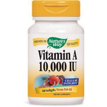 Vitamina A 10.000 UI Nature's Way 100 Softgel