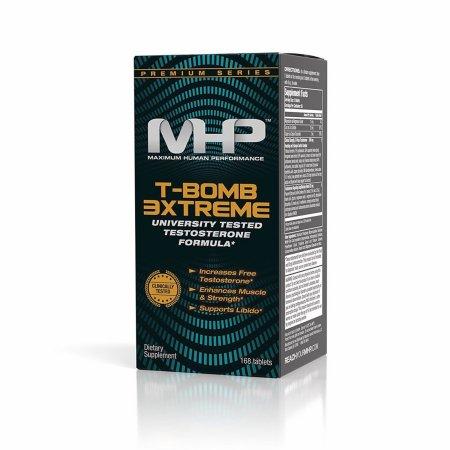 MHP-Bomba Camiseta de la universidad 3Xtreme Probado testosterona Fórmula 169 Tabletas