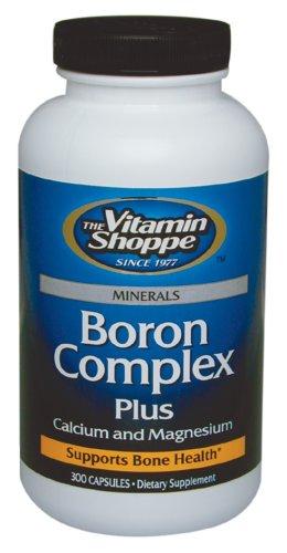 Boro complejo además de calcio y magnesio