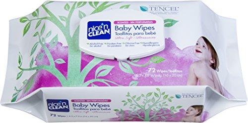 Nice ' n Clean toallitas húmedas, perfumadas, cuenta 72