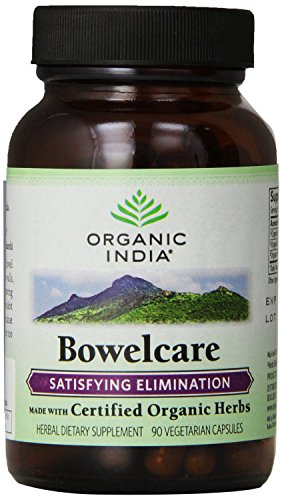 Bowelcare India orgánica, 90 V-Caps