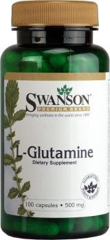 L-glutamina 500 mg 100 Caps