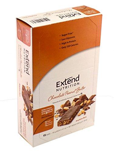 Ampliar barra, mantequilla de maní de Chocolate, barras de 1,41 onzas (paquete de 15)