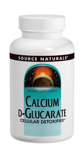 Source Naturals calcio D-Glucarate 500mg, 120 tabletas