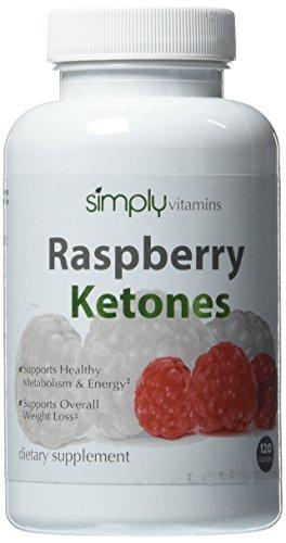 Simplemente vitaminas cetonas frambuesa 100mg 120 cápsulas - quemador de grasa pura 100%. Perder grasa con cero efectos secundarios. Apoya la pérdida de peso saludable y control de peso. Todo estimulante no grasa quemador suplemento Natural para cualquier