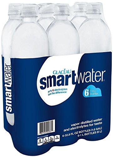 SmartWater, ct 6, botella de 1 L