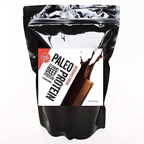 Proteína de paleo doble Chocolate en polvo (2lbs) (2 carburadores) (30 porciones)