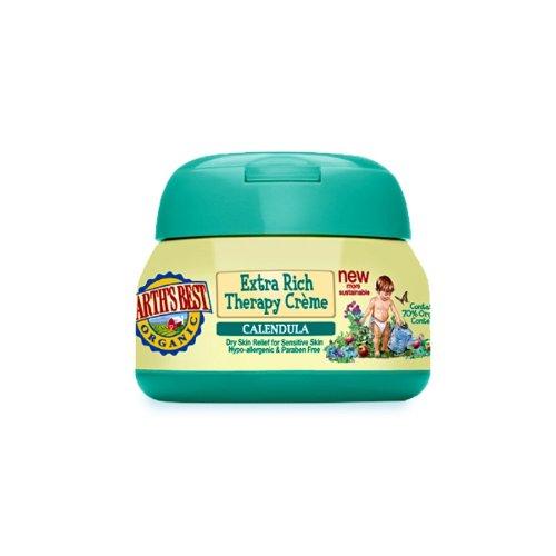 Crema de mejor Baby Care Calendula Extra Rich Therapy JASON Natural cosmética de la tierra, 4 onzas