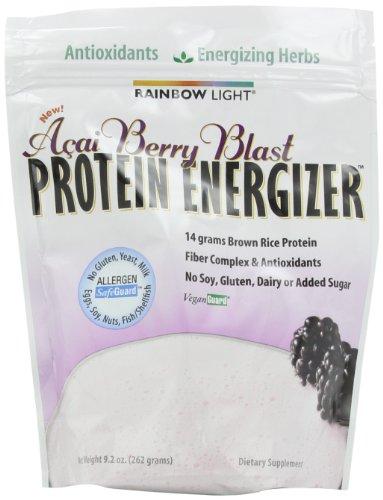 Arco iris luz Acai Berry proteína Energizer (9.2 oz)