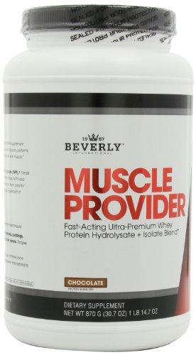 Proveedor de músculo internacional Beverly, sabor Chocolate, 14.7-onzas 1 libra