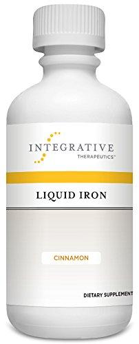 Terapéutica integral de hierro líquido, canela, 6 FL. oz.